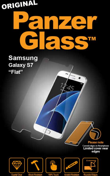 """PanzerGlass Samsung s7 """"FLAT"""""""