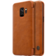 Nillkin Qin Book pouzdro pro Samsung G960 Galaxy S9, Brown