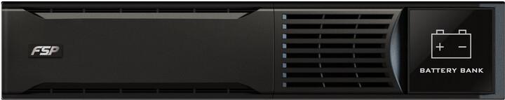 Fortron Rack Battery Bank 3K pro Custos 9X+, 2U/72V/9Ah x 6ks