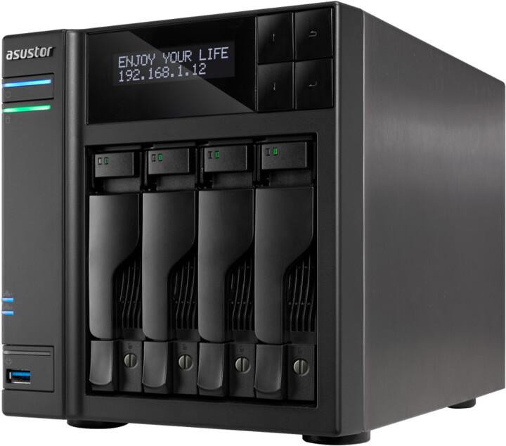ASUSTOR AS7004T, Intel i5