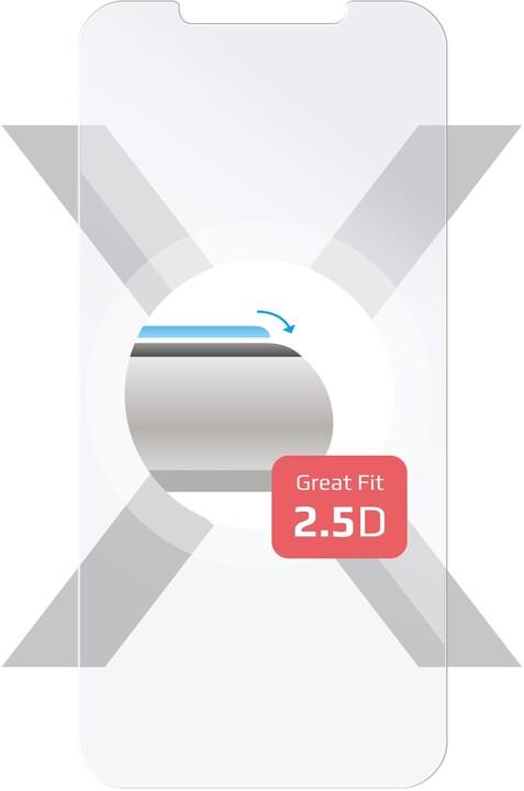 FIXED ochranné tvrzené sklo pro Apple iPhone 12/12 Pro, čirá