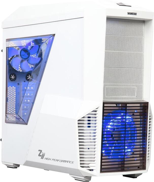 Zalman Z11 Plus, bílá