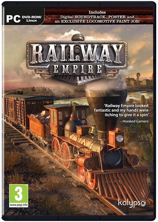 Railway Empire - Day One Edition (PC)