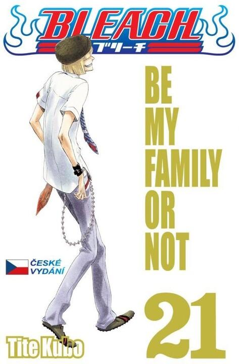 Komiks Bleach - Be my family or not, 21.díl, manga