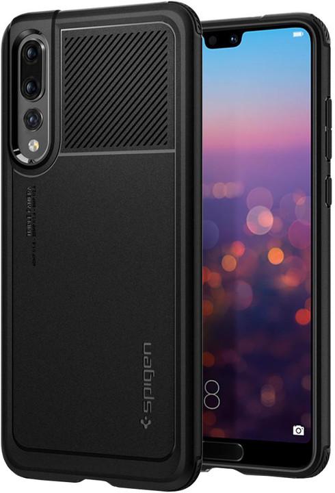 Spigen Marked Armor Huawei P20 Pro, černá