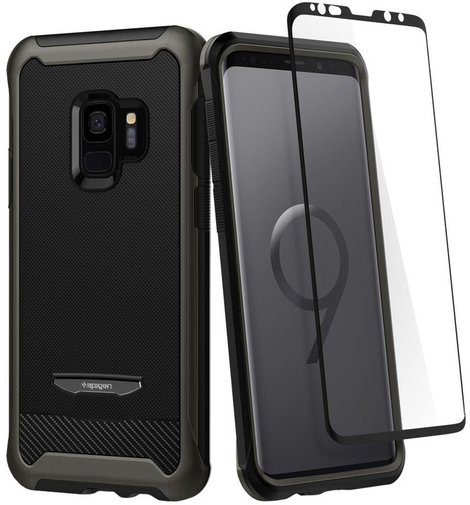 Spigen Reventon pro Samsung Galaxy S9, gunmetal