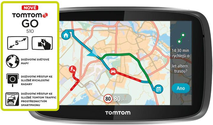 TOMTOM GO 510 World Traffic Lifetime