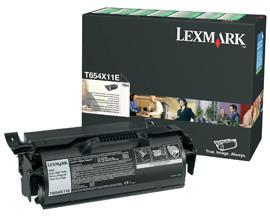 Lexmark T654X11E - černá