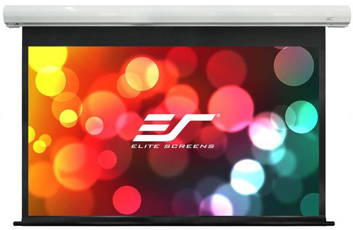 """Elite Screens plátno elektrické motorové 100"""" (254 cm)/ 16:9/ 124,5 x 221,5 cm/ case bílý"""