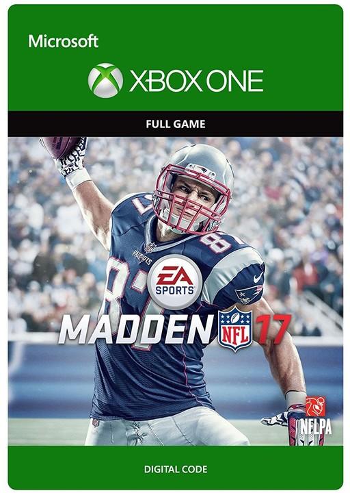 Madden NFL 17 (Xbox ONE) - elektronicky