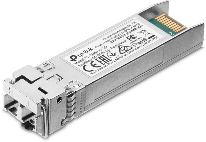 TP-LINK SFP modul TL-SM5110-SR 10Gbase-SR SFP+ 2xLC Transceiver, 850nm MM, 300m