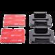 MadMan Zaoblené nalepovací držáky 3M pro GoPro