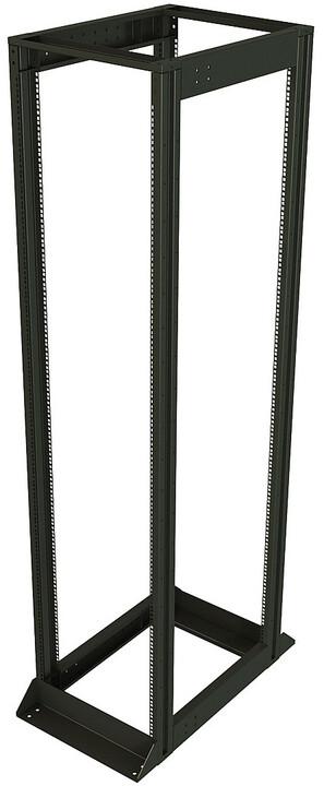"Solarix rozv. rám 19"", 42U, 600x1000, vysokonosný, nosnost 1200 kg, komplet"