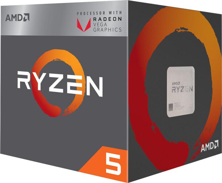 AMD Ryzen 5 2400G, RX VEGA