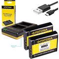 Patona nabíječka Foto Dual Quick Sony NP-BG1 + 2x baterie 960mAh USB