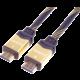 PremiumCord HDMI 2.0 High Speed + Ethernet kabel HQ, zlacené konektory, 1,5m