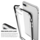 Ringke Frame case pro iPhone 7, ice silver