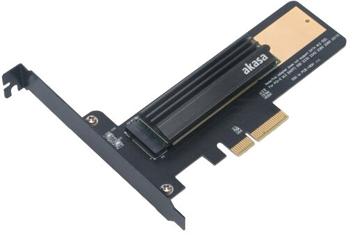 Akasa AK-PCCM2P-02, adaptér PCIe/M.2 + chladič
