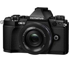 Olympus E-M5 Mark II + 14-42 EZ, černá/černá - V207044BE000