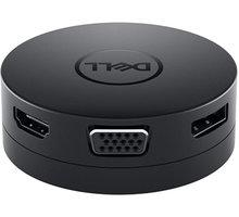 Dell mobilní adaptér DA300/ USB-C/ na HDMI/ DisplayPort/ VGA/ Ethernet RJ-45/ USB 3.0/ USB-C - 492-BCJL