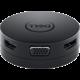 Dell mobilní adaptér DA300/ USB-C/ na HDMI/ DisplayPort/ VGA/ Ethernet RJ-45/ USB 3.0/ USB-C