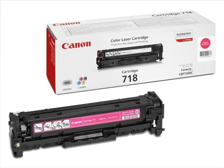 Canon CRG-718, purpurový
