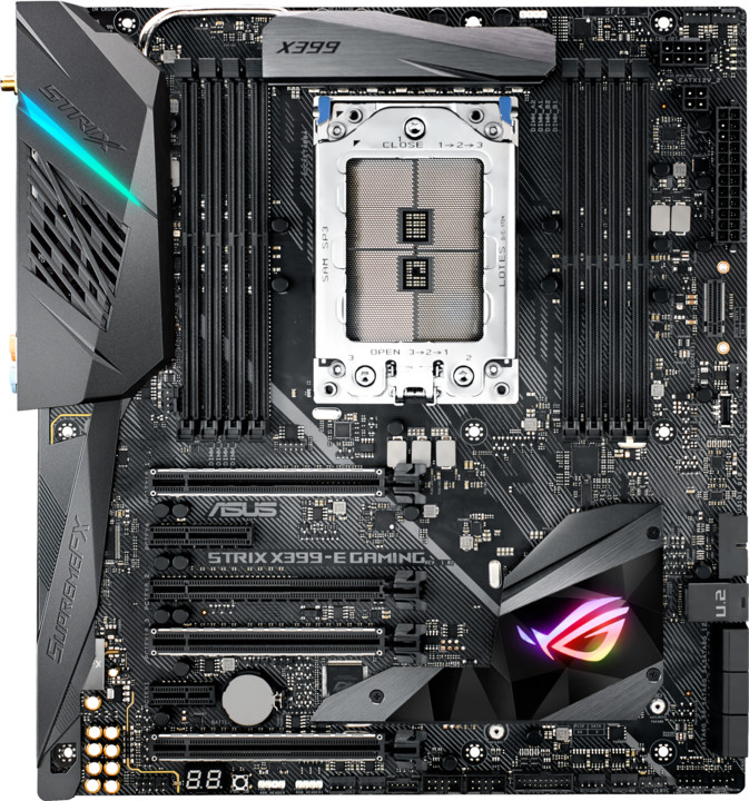 ASUS ROG STRIX X399-E GAMING - AMD X399