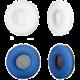 LAMAX náušníky bílé + modré pro Blaze B-1 v ceně 290 Kč