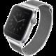 UNIQ řemínek Dante Apple Watch Series 4 Mesh Steel 40mm, stříbrná