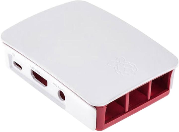 Raspberry Pi Original, bílá/červená