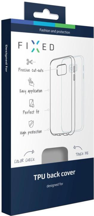 FIXED gelové pouzdro pro Sony Xperia M5, bezbarvé