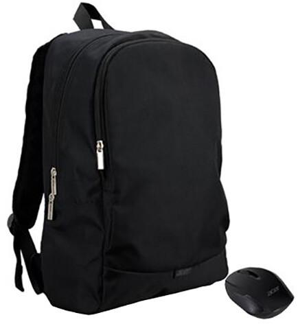 """Acer batoh a bezdrátová myš Starter Kit 15.6"""" ABG950, černá"""