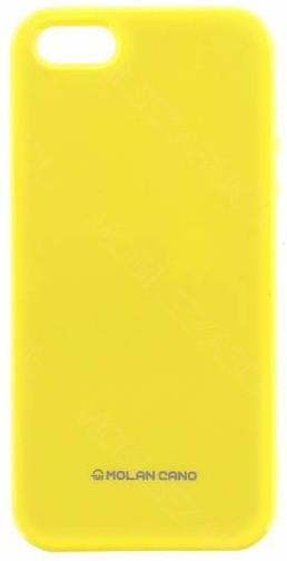 Molan Cano Jelly TPU Pouzdro pro Huawei P9 Lite Mini, žlutá