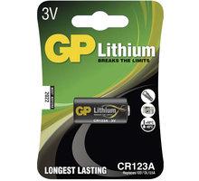 GP, lithium, CR123A, 1500mAh, 1ks - 1022000111