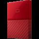 WD My Passport - 1TB, červená