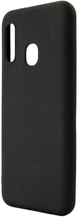 EPICO SILK MATT Case Samsung Galaxy A20e, černá