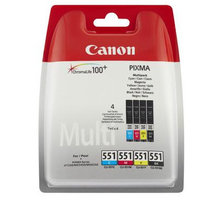 Canon CLI-551 C/M/Y/BK Multi Pack - 6509B009