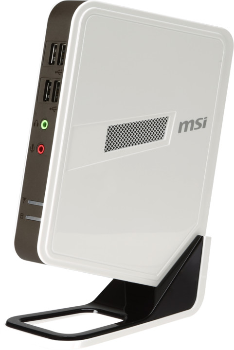 MSI Wind BOX DC111-027XEU, bílá