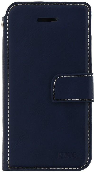 Molan Cano Issue Book Pouzdro pro Huawei Y7 Prime 2018, modrá