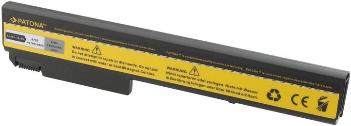 Patona baterie pro HP EliteBook 8530 4400mAh 14,8V