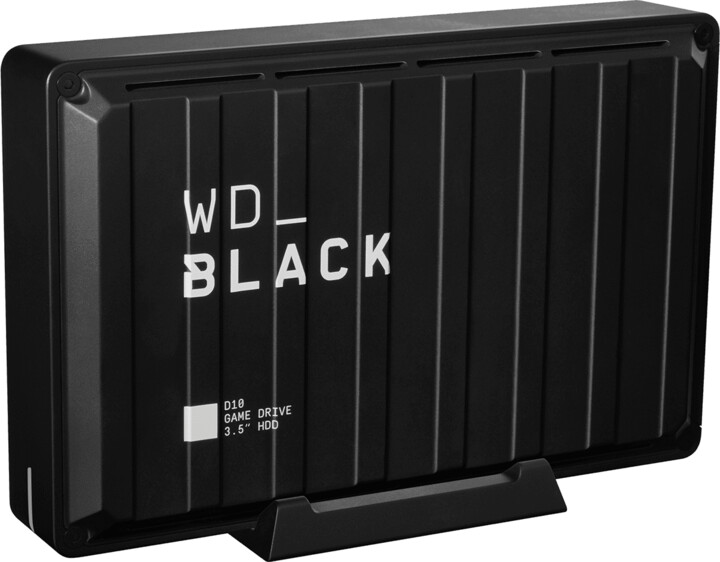 WD BLACK D10 - 8TB, černá