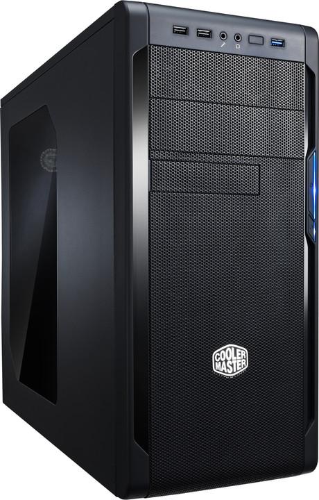 CoolerMaster N300, okno, černá