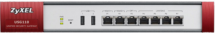 Zyxel ZyWALL USG110 UTM Security Firewall