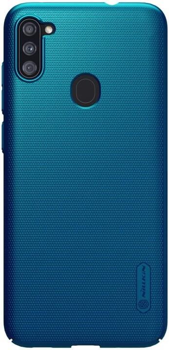 Nillkin zadní kryt Super Frosted pro Samsung Galaxy A11, paví modrá