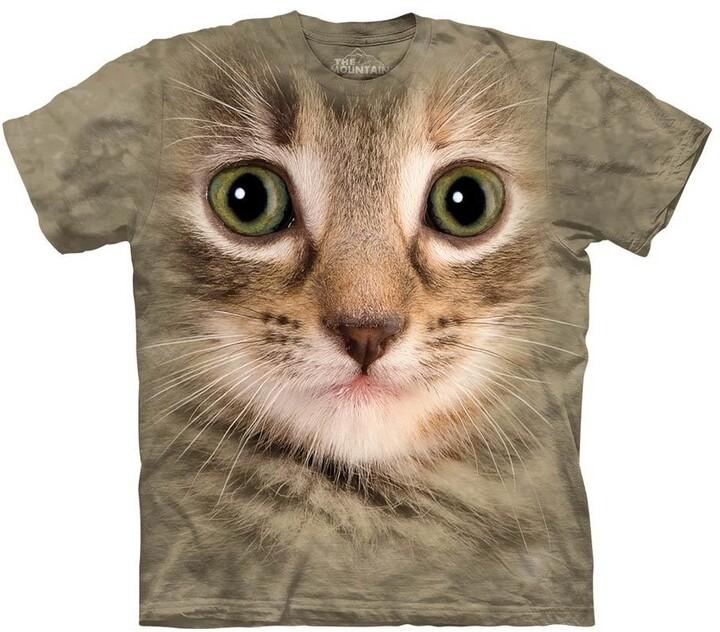 Tričko The Mountain Kitten Face (US XL / EU XXL)