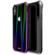 Luphie Aurora Magnet Hard Case Glass pro iPhone X, černo/fialová  + Při nákupu nad 500 Kč Kuki TV na 2 měsíce zdarma vč. seriálů v hodnotě 930 Kč