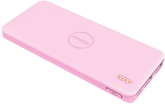ROMOSS Polymos 5 PowerBank 5000mAh, růžová