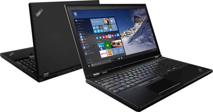 Lenovo ThinkPad P51, černá