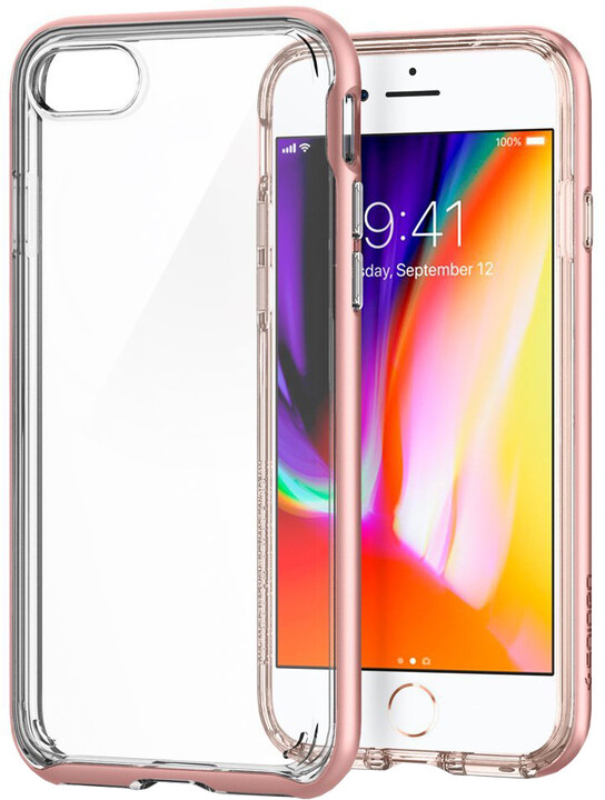 Spigen Neo Hybrid Crystal 2 pro iPhone 7/8, rose gold