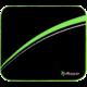Arozzi Chair mat, černá/zelená  + Možnost vrácení nevhodného dárku až do půlky ledna